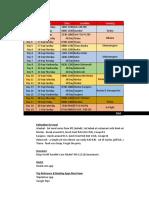 Balkan 2017 Itinerary Updated