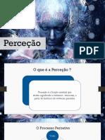 Psicologia- perceção