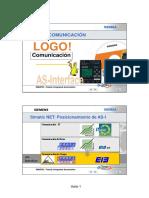 PLC LOGO - Comunicación