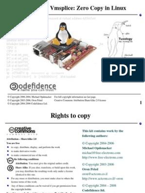 Splice, Tee & VMsplice: zero copy in Linux   Kernel