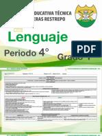 1. Lenguaje - 4° Periodo - I.E.T. Carlos Lleras Restrepo