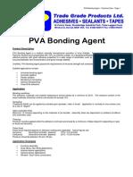 Pva bonding agent A