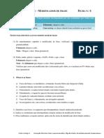 Ficha de Preparação Para o Teste