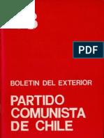 Boletín del Exterior Partido Comunista de Chile Nº43
