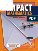 McGraw-Hill IMPACT Mathematics Algebra and More, Course 3, Student Edition 2004