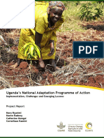 Uganda s National Adaptation Programme of Action