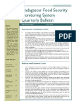 Madagascar Food Security Monitoring System Quarterly Bulletin (2nd Quarter 2010, May 2010)