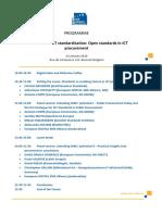 ICT Forum - Event Programme