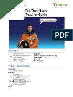 TYNKER - Tell Their Story - teacher-guide