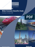High Speed Rail - Wider Economic Benefits Study Glasgow Edinburgh