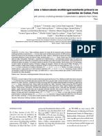 Factores Asociados a Tuberculosis Multidrogorresistente Primaria en Pacientes de Callao, Perú