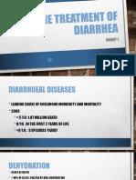 The Treatment of Diarrhea