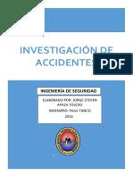 INVESTIGACIONDE ACCIDENTES