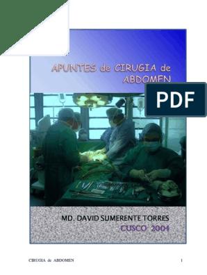 operación con láser de próstata de bario