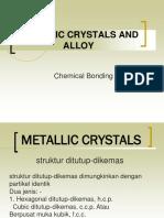 Metallic Crystal % Alloy Indo