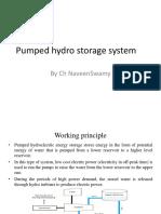 Pumped Hydro Storage System