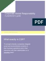 16712294 Corporate Social Responsibility