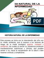 Pediatria Historia Natural de La Enfermedad