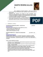 Resumen Cv Cesar Rivera Ulloa 2018