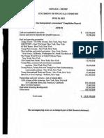 Cohen Exhibit 1b Trump Financials 2012