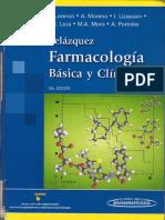 Farmacología básica y clínica Velázquez