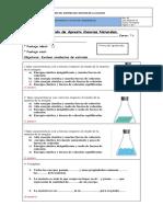 Evaluación de Apresto Ciencias Naturales
