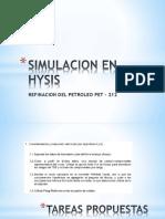 Simulacion en Hysis