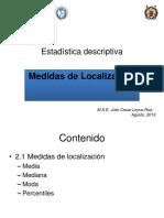 Medidas de Localizacion 2
