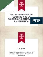 Sistema Nacional de Control y de La Contraloría