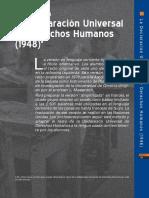 Declaración derechos humanos