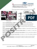 030 12 Chevrolet Nova s10 2012 Procedimento de Instalacao Com Alarme Positron