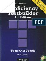 343816598 Proficiency Testbuilder With Key 4th Edition Harrison Mark