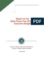Executive Budget Report 2019 20