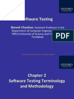 328 33 Powerpoint Slides 2 Software Testing Terminology Methodology Chapter 2