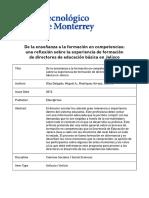 De+la+ensenanza+a+la+formacion+en+competencias.+una+reflexion+sobre+la+experiencia+de+formacion+de+directores+de+educacion+basica+en+Jalisco
