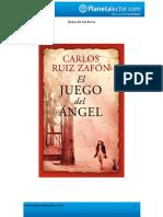 El Juego Del Angel-cuestionario