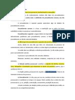 Fichamento Procedimentos Especiais