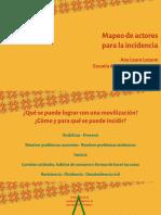 Charla FITS- Mapeo de Actores Para La Incidencia (1)