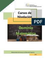 Manual Dom Matemático Unidad Formativa 1
