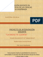 Especialización Docente en Problemáticas de Las Ciencias Sociales