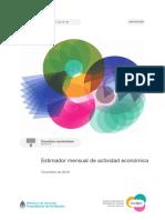 Estimador Actividad Económica 2018