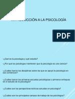 introduccion psicología