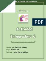 Actividad integradora 6