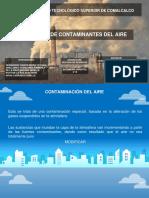 Principales Contaminantes de la Atmosfera