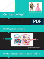 Gender Specific Toys