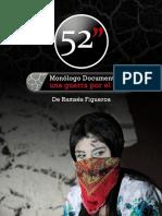 Dossier Obra Teatro 52 PULGADAS