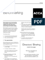 ACCA Directors Briefing Bench Marking