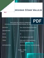 Mercado Internacional y Bolsa de Valores