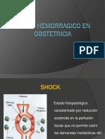 choque hipovolémico