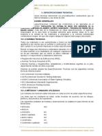 ESPECIFICACIONES TECNICAS ARABITO